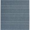 "Blue & Cream Striped ""Patio"" Rug ( L: 230cm W: 160cm )"
