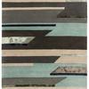 """Grey & Blue Tones """"Matrix"""" Rug ( L: 230cm W: 160cm )"""