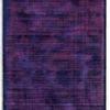 Blue & Rose Pink Striped ''udaipur'' Rug ( L: 300cm W: 200cm )