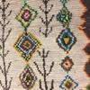 Cream & Coloured Pattern Wool Rug ( L: 306cm W: 132cm )