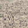 Two Tone Grey & Cream Pattern ''junction'' Rug ( L: 290cm W: 190cm )