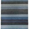 "Blue & Grey Tones Pattern ""Veronica"" Rug ( L: 240cm W: 80cm )"