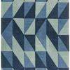 "Blue Toned ""Flag"" Rug ( L: 230cm W: 160cm )"