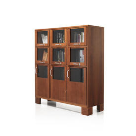 Rosewood & Glass 9 Door Hosiery Cabinet