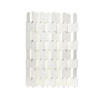 Matt White Folding Eileen Gray Screen ( H: 172cm D: 152cm )
