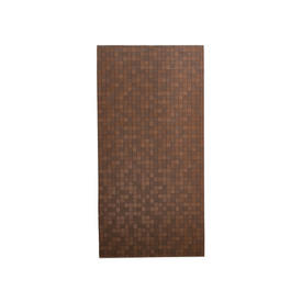 Brown Leather Squares Panel