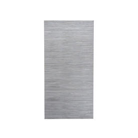 Silver Striped Silk Panel