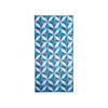 Blue & White Geometric Panel ( H: 244cm W: 122cm )