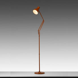 Brown Anglepoise 75 Floor Lamp