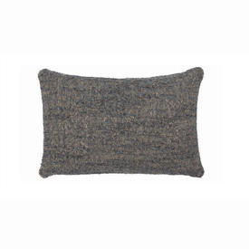 Rect Blue Textured ''Nomad'' Cushion