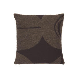 Square 2 Tone Brown ''Moro Orb'' Cushion