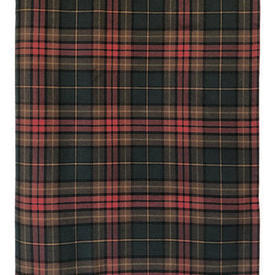 "Table Cover 8'6"" x 4'4"" Bottle Tartan Wool"