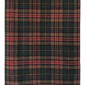 """Table Cover 8'6"""" x 4'4"""" Bottle Tartan Wool"""