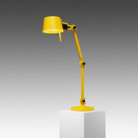 Yellow 2 Arm ''Bolt'' Anglepoise Desk Lamp (Wingnut £40 Replacement If Not Returned)