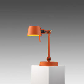 Orange 1 Arm ''Bolt'' Anglepoise Desk Lamp (Wingnut £40 Replacement If Not Returned)