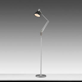 Grey Anglepoise 1228 Floor Lamp