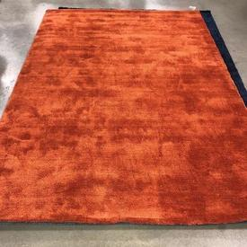 230 X 160Cm Rusty Orange Shag Pile Milo Rug