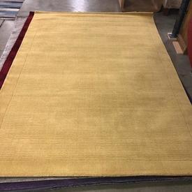 230 X 160Cm Yellow York Wool Pile Rug