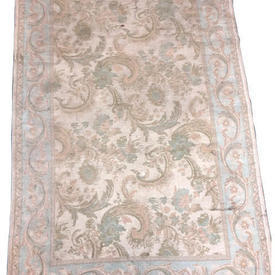 177Cm X 117Cm Faded Blue & Duck Egg 'Ashley' Feather Pat Rug