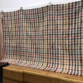 200Cm X 140Cm Multicolour Tweed Habitat Rug