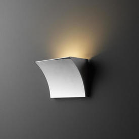 Small Curved Chrome ''Pochette'' Wall Light