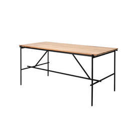Teak & Black ''Oscar'' Desk