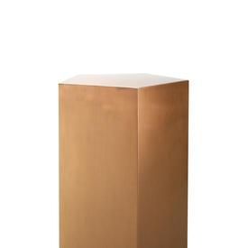 Medium Brushed Copper ''Meissner'' Pedestal