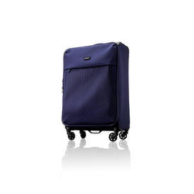"Small Navy Blue Nylon ""Oxygen"" Trolley Case"