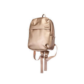 "Rose Gold Leatherette ""Miss Plume"" Backpack"