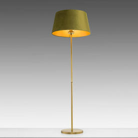 Brushed Gold Floor Lamp (Shade Not included)