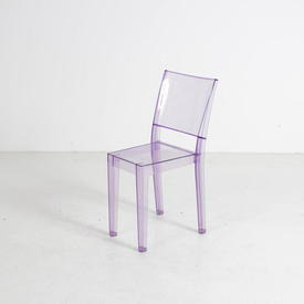 Lilac Perspex 'La Marie' Chair