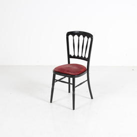 Black Hps Band Chair Red Seat