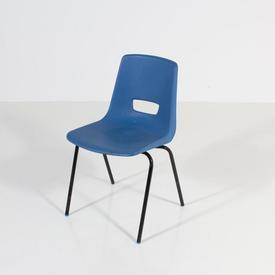 Airforce Blue Plastic School Polyprop Chair