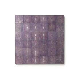 Purple Stingray Skin Wall Relief