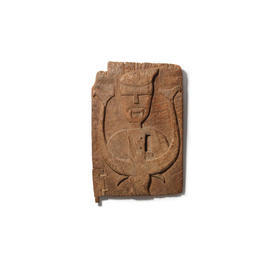 Aztec Wooden Vampire Wall Sculpture
