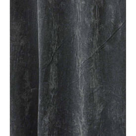 Pair Drapes 16' x 9' Charcoal Display Suede
