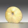 "Large Circ Silk Pleated ""Sahara"" Floor Lamp"