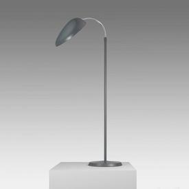 "Dark Grey ""Cobra"" Swan Neck Floor Lamp"