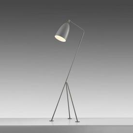 "Light Grey ""Grasshopper"" Tripod Floor Lamp"