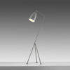 "Light Grey ""Grasshopper"" Tripod Floor Lamp"