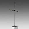 """Black """"CSYS"""" Tall Reading Lamp with Power ADapter"""
