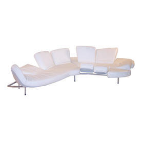 White Flap Edra Seating Unit