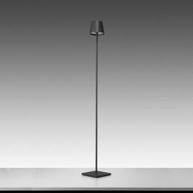 "Dark Grey Led ""Poldina"" Floor Lamp & Charger (Charger Rv £40 + Vat If Not Returned)"