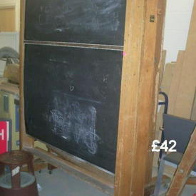 Roll Over Blackboard 72""