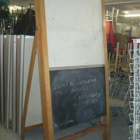 Roll Over Blackboard 84""