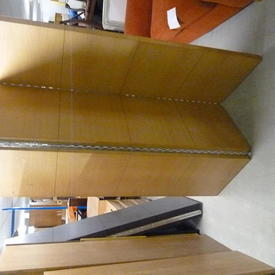 6' Oak Mariani 3 Fold Divider Screen