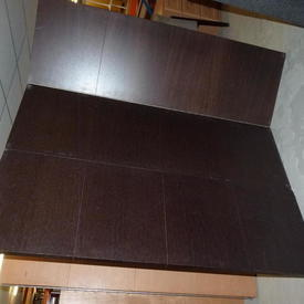 3 Fold Mpf Wenge Screen