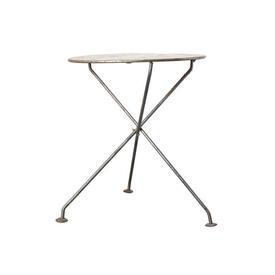 Circular Metal Folding Cafe Table