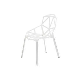 White ''Chair one'' Dining Chair on Ali Legs
