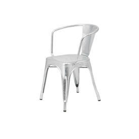 Cast Ali ''Tolix'' Chair with Arms